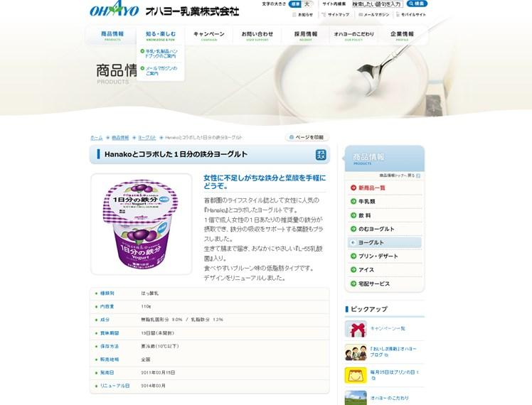 hanakoとコラボした1日分の鉄分yogurtの効果は?口コミ・評判・評価レビュー